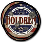 Holdren Family Name Drink Coasters - 4pcs - Wine Beer Coffee & Bar Designs