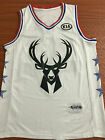 2019 All Star Milwaukee Bucks 34 Giannis Antetokounmpo White Basketball Jersey