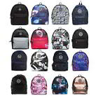 Hype Backpack Rucksack School Bag Various Colours Black Blue Pink Green Red