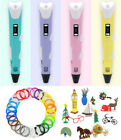 3D Printing Drawing Pen Crafting Modeling PLA Arts Doodle Printer Color Filament