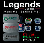Legends Cue Tips - Soft, Medium and Hard Professional Snooker/Pool Cue Tips 10mm £17.45 GBP on eBay