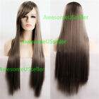 80cm Long Straight Women Cosplay Costume Party Hair Anime Wigs Full Hair Wig фото