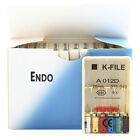 10 Packs Dental K-FILE 21/25/31mm Endodontic Hand Use Root Canal Files all Types