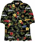 Shelby GT350 & GT500 Mustang Hawaiian Shirt - A High Quality Camp Shirt - LOOK!
