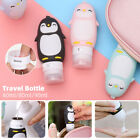 Portable Lovely Animal Travel Case Shower Gel Lotion Storage Organizer  Bottle