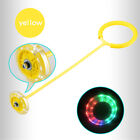 Flashing Skip Ball Ankle Skip It Jumping Toy Skip Ball 5 Colors for Children
