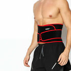 Adjust Strap Men Lumbar Lower Dual Pull Back Waist Brace Bandage Belt Corrector