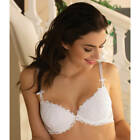 LISE CHARMEL AFFINITE COUTURE SOUTIEN GORGE COQUE ACG8511 BLANC NEUF