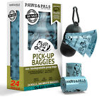 Poop Bags for Dogs Biodegradable Waste Pet Dog/Cat Scented & Unscented Poo Bag <br/> #1 Seller - Brand Name - New Design - For Various Pets