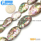 Sea Abalone Shell Gemstone Loose Beads For Jewelry Making Free Shipping in Lots