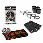 Bones Reds Skateboard Bearings with Independent Risers and Mounting Hardware image