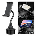 Universal Adjustable Gooseneck Car Cup Holder Mount Cradle for Cell Phone Tablet