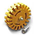 """4"""" inch Removal Eraser Wheel Pneumatic Car Decal Sticker Remover Remove Tools"""