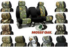 NEW Custom-Fit Mossy Oak Camo Seat Covers w/Black Sides Neosupreme Camouflage