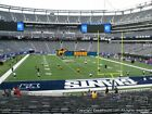 2 NY New York Giants vs Washington Redskins Tickets - 9/29/19 - Lowers on aisle