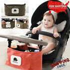 Pram Pushchair Stroller Bag Baby Buggy Cup Bottle Drink Holder Storage Organiser
