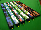 3/4 Snooker / Pool Cue case with Square Patchwork + padded interior- choice of 5 £49.0 GBP on eBay