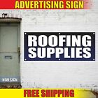 ROOFING SUPPLIES Advertising Banner Vinyl Mesh Decal Sign construction build now