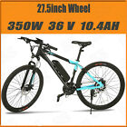 """26""""/27"""" Electric Fat Tire Bike City Mountain Bicycle w Removable Lithium Battery"""
