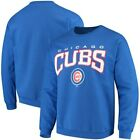 Chicago Cubs Stitches Pullover Crew Sweatshirt - Royal on Ebay