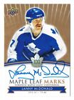 2017-18 Toronto Maple Leafs Centennial Marks Autograph Auto Pick From List !! $6.0 CAD on eBay