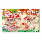 Wall Art Gifts Home Decor Feng Shui Koi Fish Painting Picture Printed on canvas