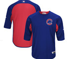 Chicago Cubs Majestic Authentic Collection On-Field Batting Practice Jersey on Ebay