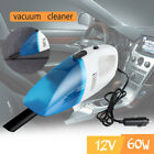 Portable 60W 12V Handheld Cyclonic Car Vacuum Cleaner Wet/Dry Duster Dirt Newly
