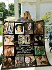 The Wizard Of Oz 80th Aniversary Thank You For The Memories Fleece Blanket 50-80 image