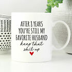 8 Year Anniversary Gift for Husband 8th Anniversary Gift For Husband Funny Mug