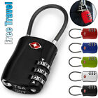 Внешний вид - TSA 3 Digit Combination Lock Locker Padlock for Luggage Suitcase Travel Gym Code