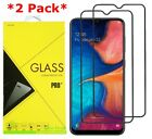 2-Pack For Samsung Galaxy A50/A20/A30 Full Cover Tempered Glass Screen Protector