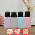 210ml Empty Pump Dispenser Nail Polish Remover Bottle Gel Nail Art Clean Bottle