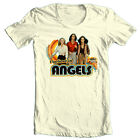 Charlie's Angels T-shirt 1970's disco retro style 100% cotton graphic tee image
