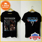 Vintage Van Halen Fair Warning Tour 81 T-Shirt Black Unisex Shirt S-6XL Reprint image