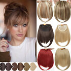 Kyпить 100% Clip In Women For Human Hair Neat Bangs Front Fringe Hair Extensions SOFT на еВаy.соm