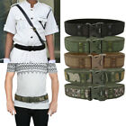 Mens Outdoor Tactical Belt Duty Military Army Combat Hunting Utility Waistband