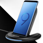 10W Foldable Qi Wireless Charger Fast Charging Dock Stand For iPhone XS Max XR X