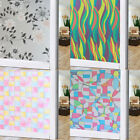BY Frosted Glass Privacy Screen Door Window Static Cling Cover Self Adhesive ILJ