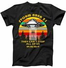 Storm Area 51 They Can't Stop Us All 09/20/2019 T-Shirt Black Unisex (S-5XL) image