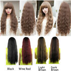 Girls Lolita Heat Resistant Long Curly Hair Halloween Party Cosplay Full Wigs 32
