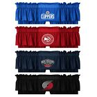 NBA BASKETBALL TEAM VALANCE - Sports Logo Jersey Window Treatment Decor on eBay