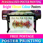 Free delivery A0 A1 A2 A3 A4 PRINTING SERVICE Print posters Personalised Photo