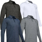 UNDER ARMOUR MENS PLAYOFF 2.0 LONG SLEEVE GOLF POLO SHIRT SPORTS TOP