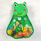 Bath Baby Play Water Duck Frog Toys Storage Bag Kids Daily Necessities Bathroom