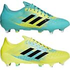 adidas Performance Mens Predator Malice Control Rugby Boots - Yellow - 12UK