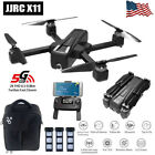 JJRC X11 5G WIFI FPV GPS Drone With 2K HD Camera Brushless RC Quadcopter w/ Bag