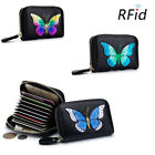 RFID Blocking Women Lady Credit Card Holder Mini Wallet Small Coin Pocket Purse