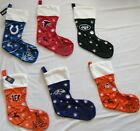 "NFL Various Teams Embroidered Christmas Stockings by Forever Collectibles 24"" $12.95 USD on eBay"