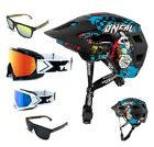 Oneal MTB Defender 2.0 Salvaje Casco Combo TWO-X Gafas Dh Downhill Gafas...